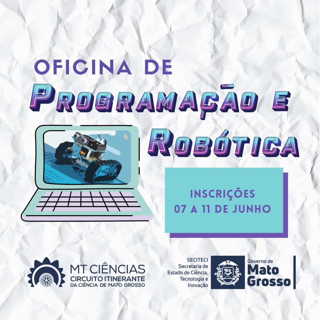 Oficina de Programação e Robótica