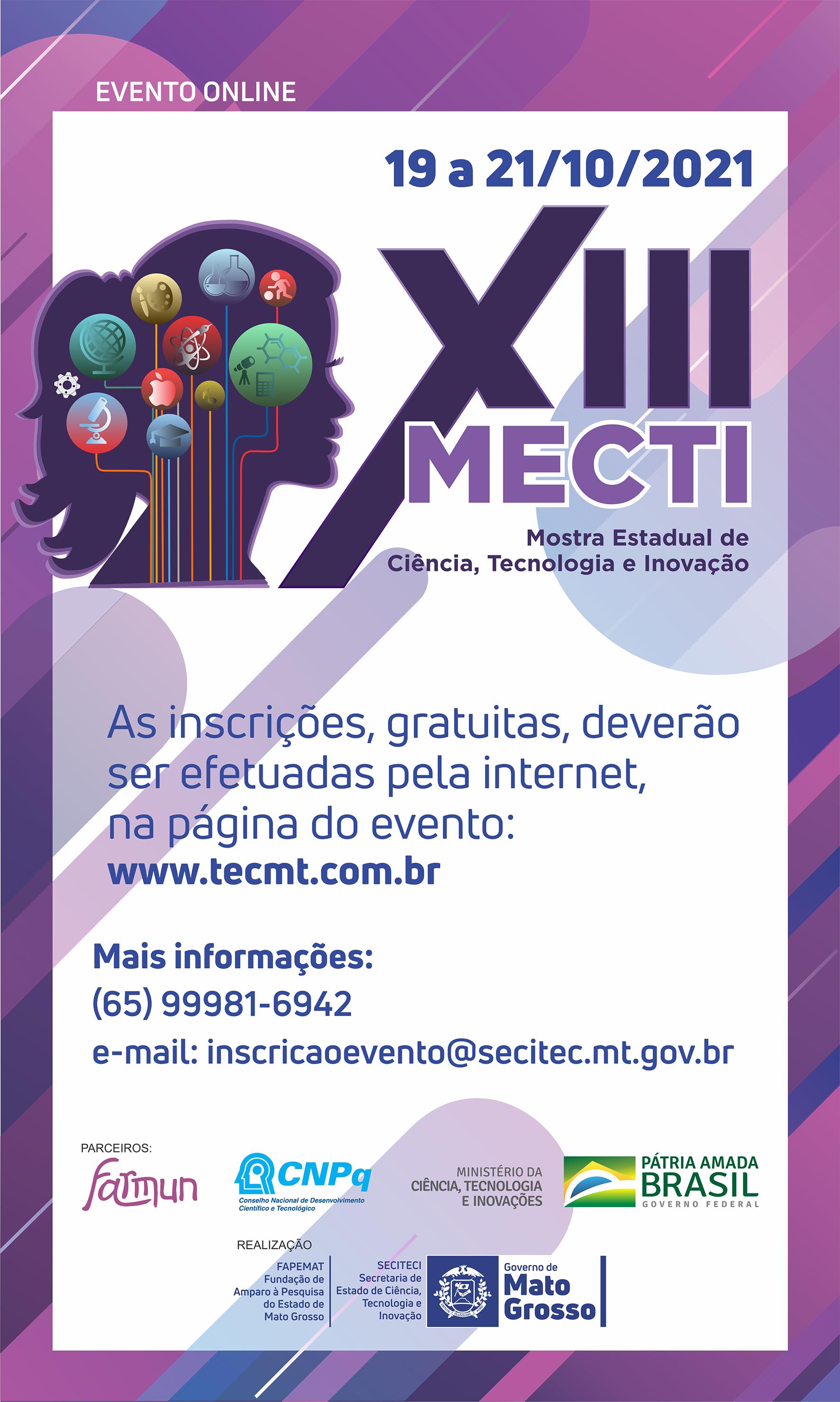 XIII Mostra Estadual de Ciência, Tecnologia e Inovação